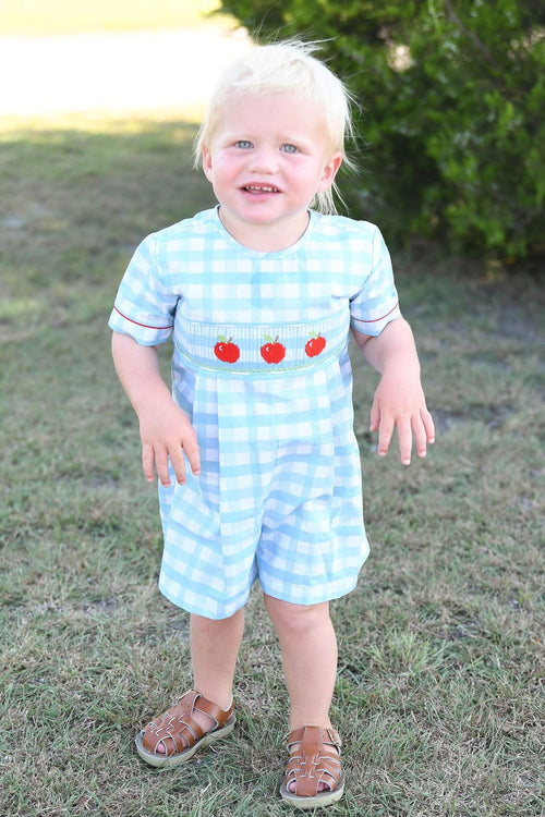 Apple a Day Boys Romper