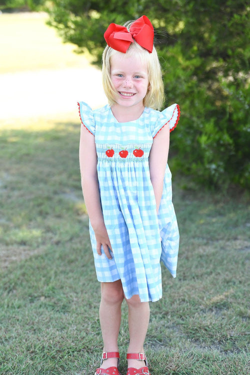 Apple a Day Girls Dress