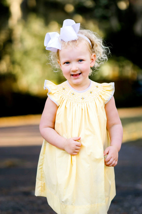 Honey Bees Bishop Dress
