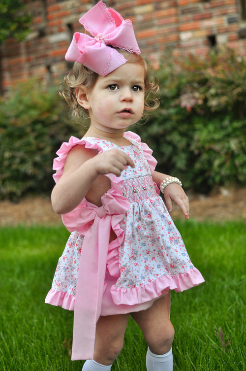 Pretty in Pink Pinafore Set