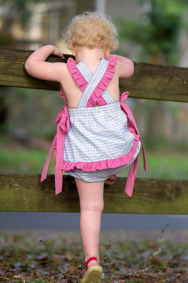 Land of the Free Pinafore Set