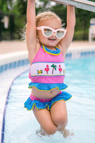 Let's Flamingle Tankini Swimsuit