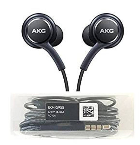 Black Wired Earphone For Mobile (All Device Support)