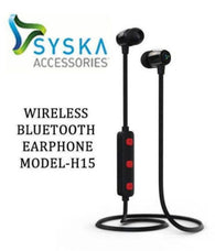 Syska Comfortable Bluetooth Headphone/ Headset Bluetooth Headset - Black