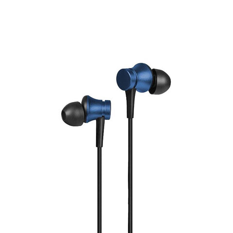 Mi Earphone Metal Basic with Ultra deep bass and mic (Blue)