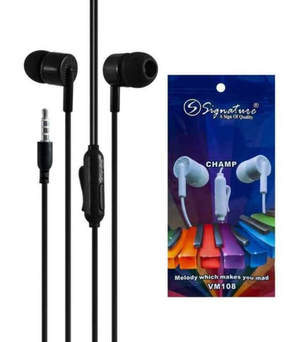 Signature High Bass Superior Handfree Black