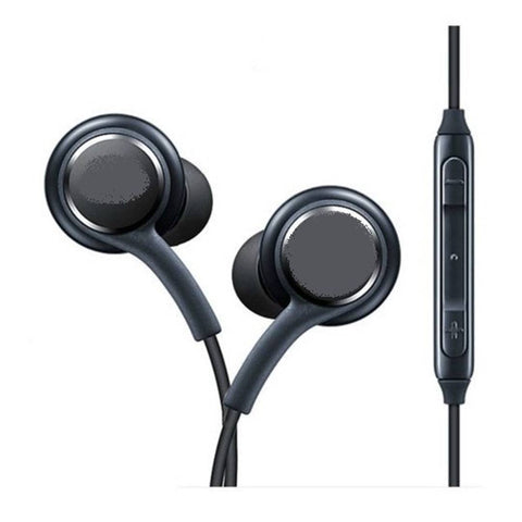 Essential Black Wired In Ear Earphones With Mic