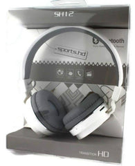 SH12 Wireless Bluetooth Headphone-White