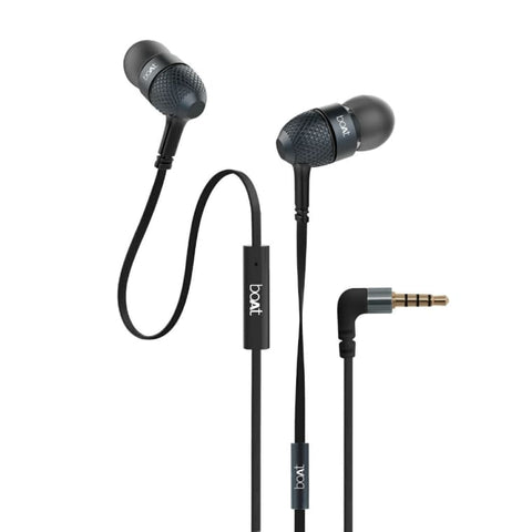 boAt Bassheads 228 Black Earphone