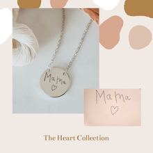 Handwriting AVA Necklace
