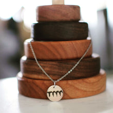 Sonogram Heartbeat Necklace