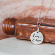 Handwriting Necklace