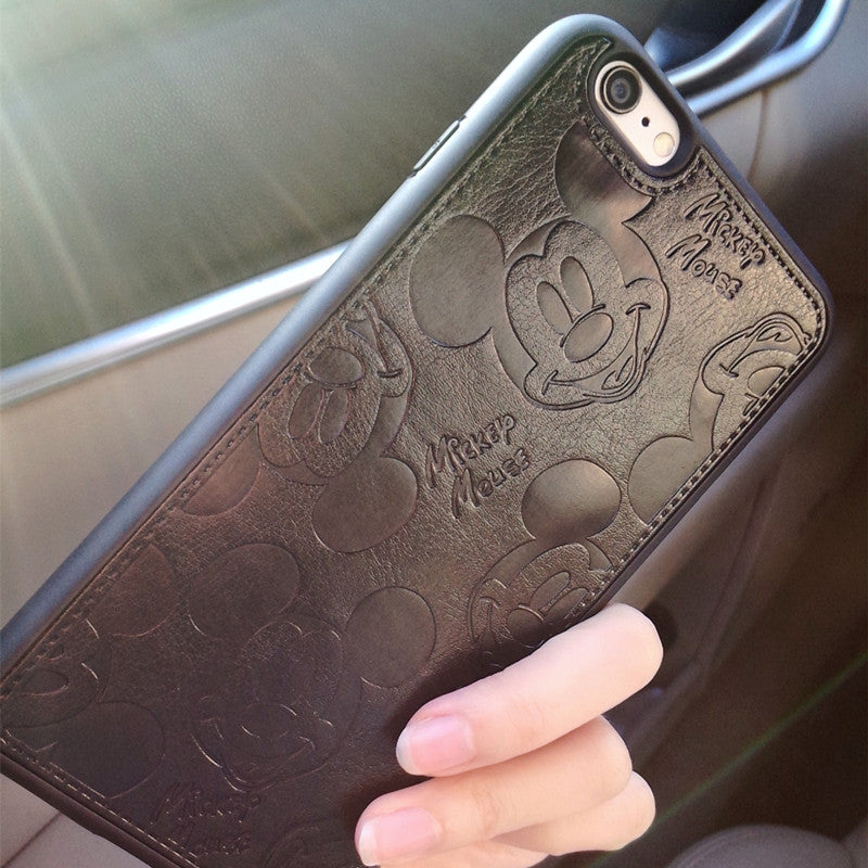 Cartoon Mickey Cases For iPhone 7 6 6S