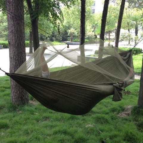 Hammock Hanging Bed With Mosquito Net