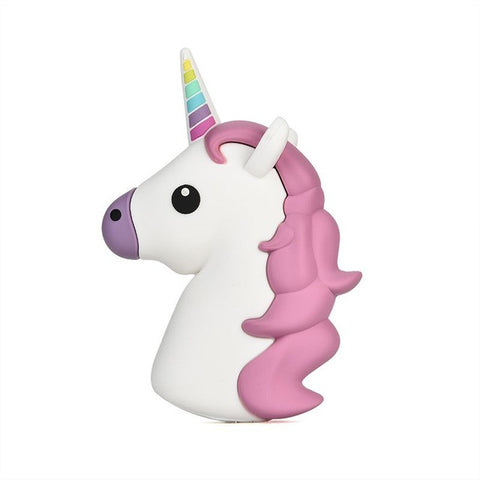 USB 2600mAh Colorful White Horse Power Bank Charger