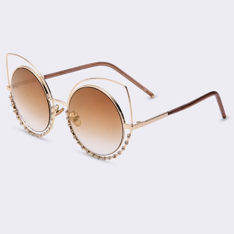Winla 2017 Fashion Sexy Cat Eye Sunglasses