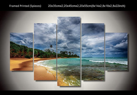 Beautiful Beach Wall Art Canvas