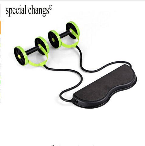 Double Wheel Abdominal Power Trainer