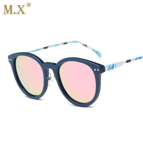 Ladies Mirror Round Sunglasses