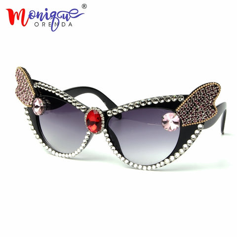 2018 Sexy Lady Retro Cat Eye Sunglasses
