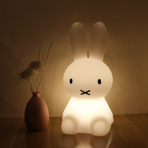 White Rabbit Night Light  for Kids Kids