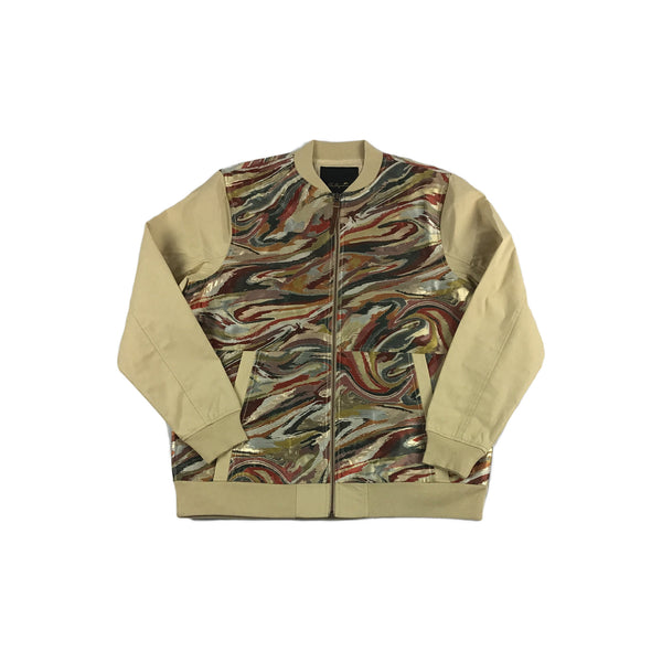 A. Tiziano Ted Bomber Jacket (wheat)