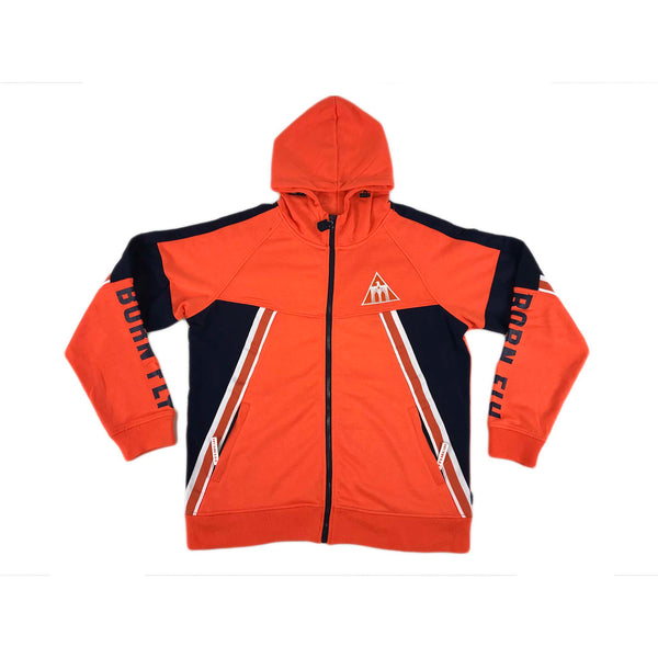 Born Fly River Dog Hoodie (orange)