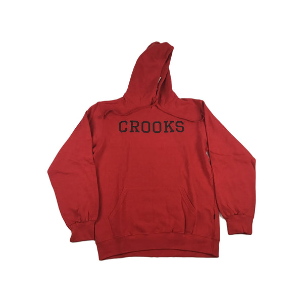 Crooks and Castle Crooks Essential Pullover (red)