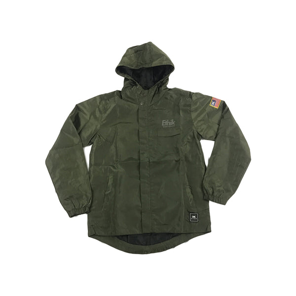Ethik Tech Rain Jacket (forest)