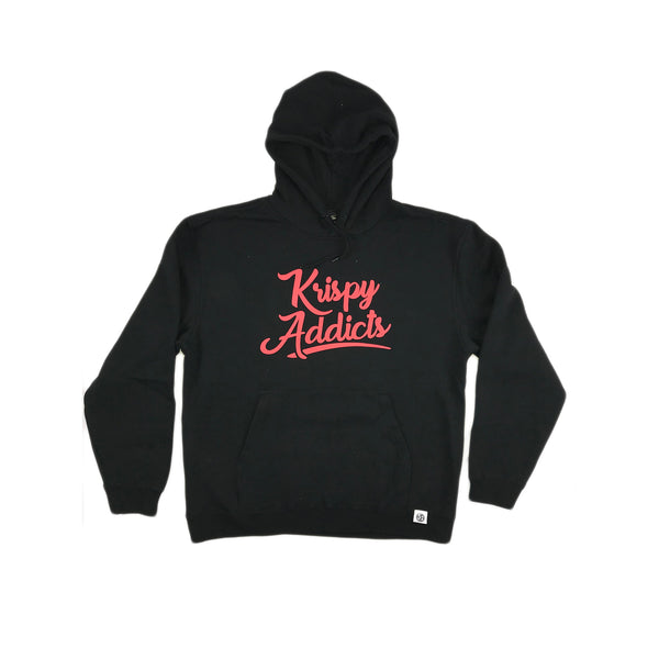 Krispy Addicts - Hoodie (black/red)