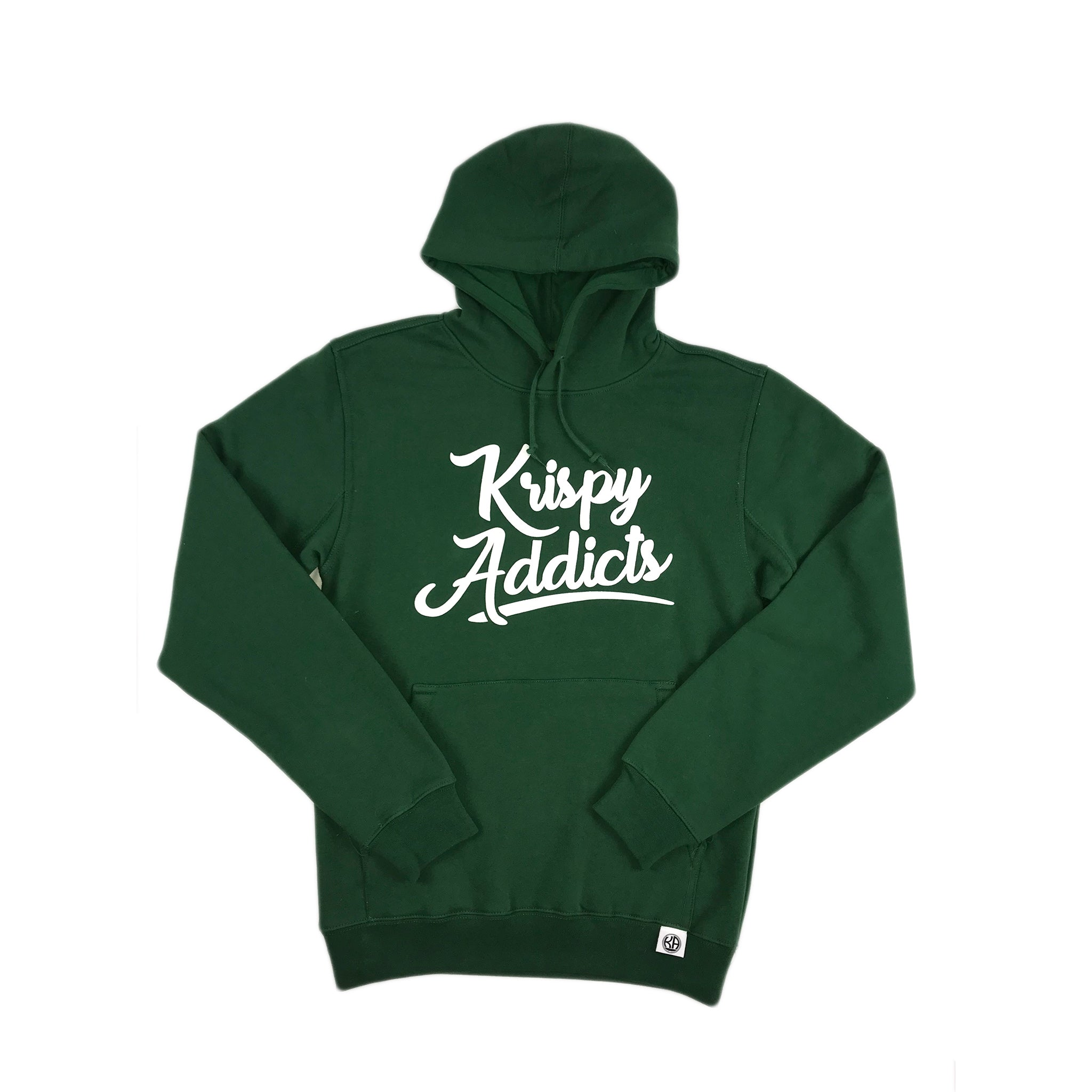 Krispy Addicts - Hoodie (dark green)