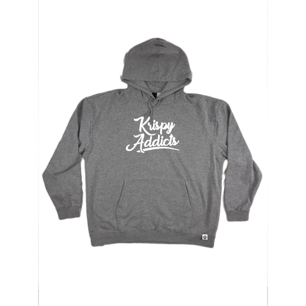 Krispy Addicts - Hoodie (heather/white