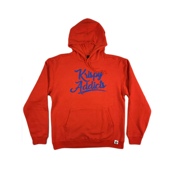 Krispy Addicts - Hoodie (orange/royal)