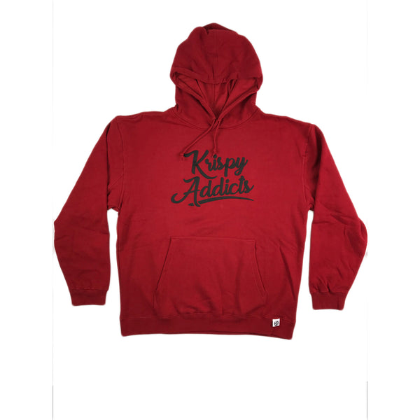 Krispy Addicts - Hoodie (red/black)