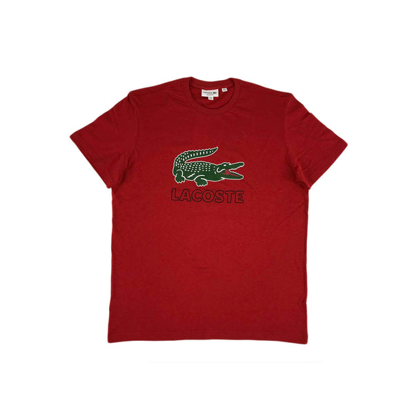 Lacoste SS Graphic Croc T-shirt (red)