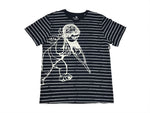 PRPS - Big Cherub Striped SS T-Shirt (navy)
