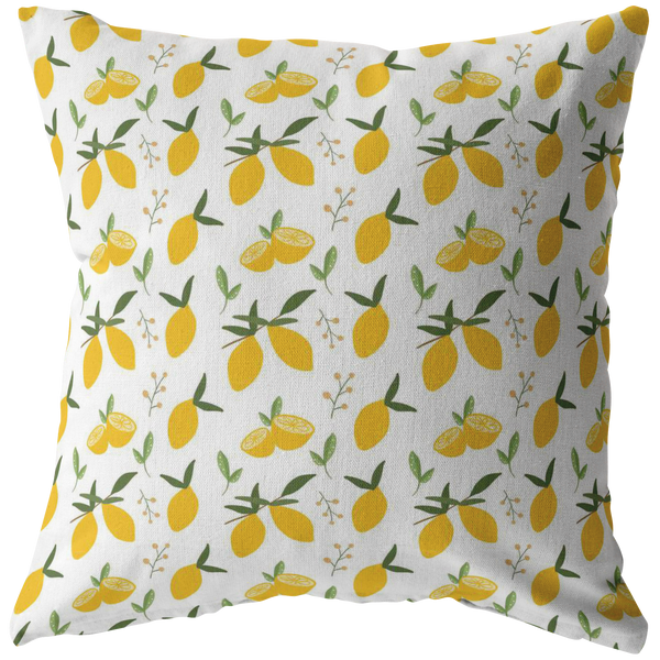 Lemon Throw Pillow Cover Home Decor Pillows Accent Decorative Sofa Unique Pillows