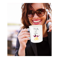 Wedding Gift- Finally A Mrs.- Novelty Custom Coffee Mug Gift Wedding Shower Fun Gift Ceramic Cup