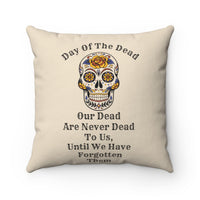Day of the Dead Throw Pillow Decorative Couch Accent Pillow Home Room Decor