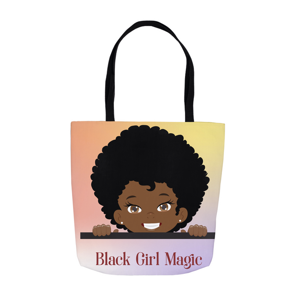 Black Girl Magic Tote Bags For Little Girls,  Cute Accessory Bag  Black Girl Gifts