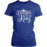 Women Christian Shirt, Christian Tee, Daughter of the King, Faith Quotes, Religious Shirt Sayings