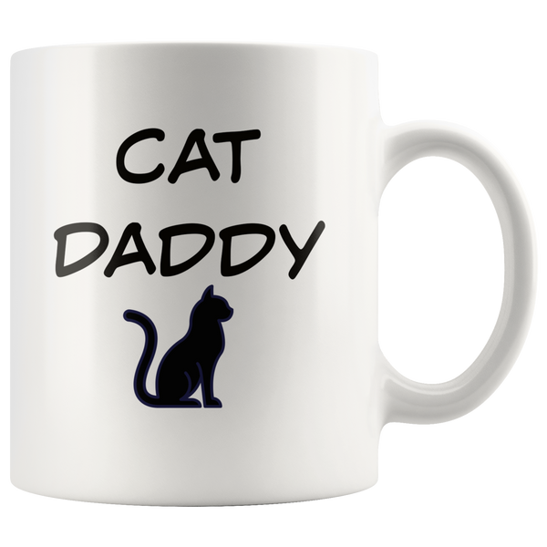 Cat Daddy Coffee Mug Gift for Him Dad Cat Lover Gift  Cat Mug Cat Gift Custom Funny Mug