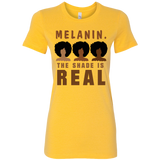 Melanin Squad Black Girl Magic T-Shirt Graphic Tee Black Women's Shirt