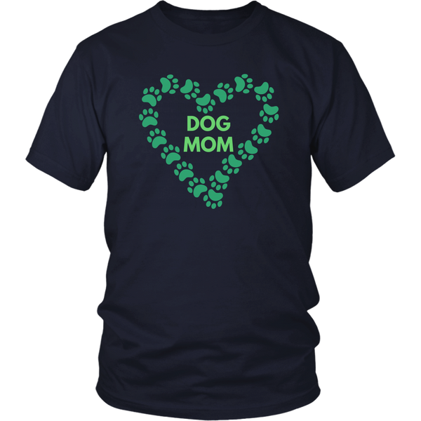 Dog Mom T-shirt  Gift for Dog Mom Her Dog lover gift Custom Funny Graphic Tee