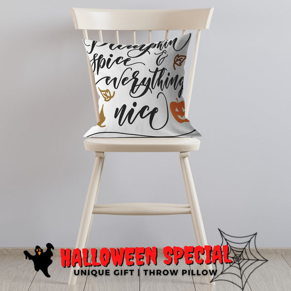 Throw pillows with sayings Fall Halloween Home Decor Housewarming Gift