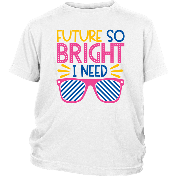 White  Bright T-shirt for girl or boy