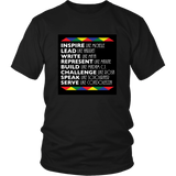 Black History Shirt- African American History T-shirt- Black history month-Black Female Figures shirt