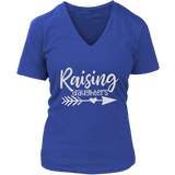 Women's Graphic Tee Shirt, Raising Daughters, Mom Tees, Girl Mom Shirt, Mom Shirt, Mom Tee