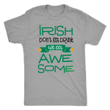 Irish Awesome Men St. Patrick's day T- Shirt funny