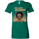 Melanin Queen T-Shirt, Black Queen Shirt For Black Women Graphic Tee Melanin Gifts